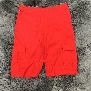Tommy Hilfiger Boy's Cargo Shorts | Red | 16